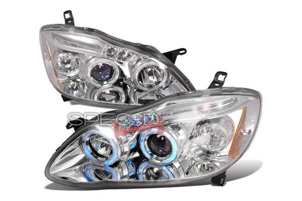 Toyota Corolla  2003-2005 Chrome Halo Projector Headlights