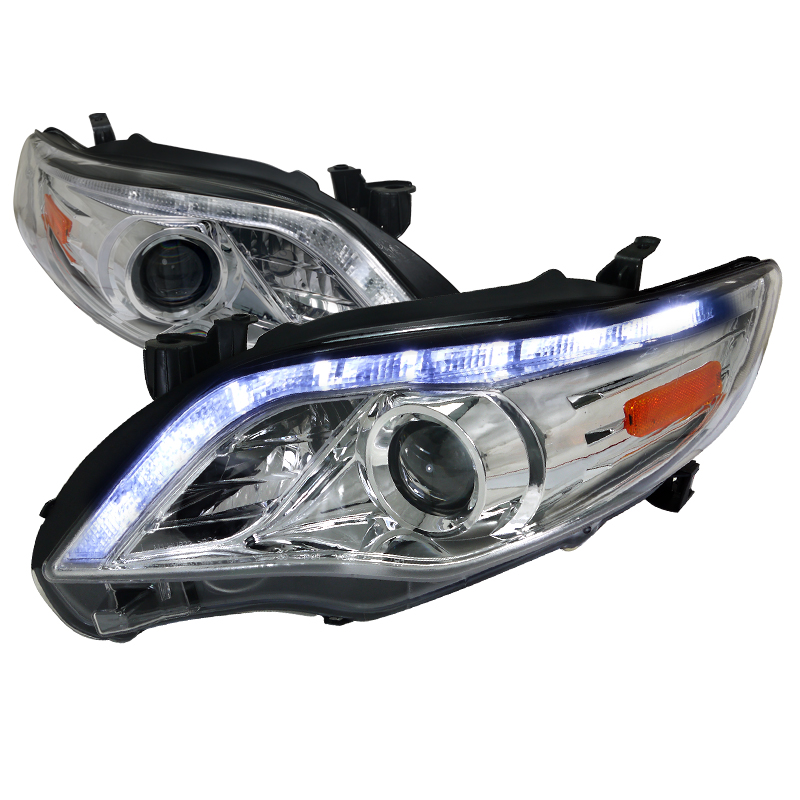 Toyota Corolla  2011-2012 Chrome  Projector Headlights
