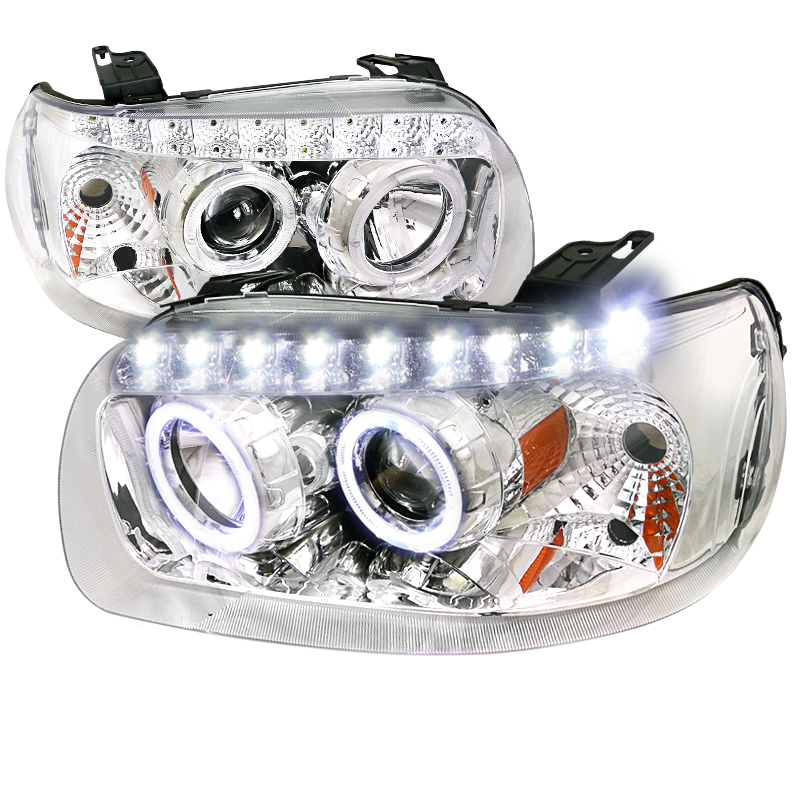 Ford Escape  2005-2007 Chrome  Projector Headlights