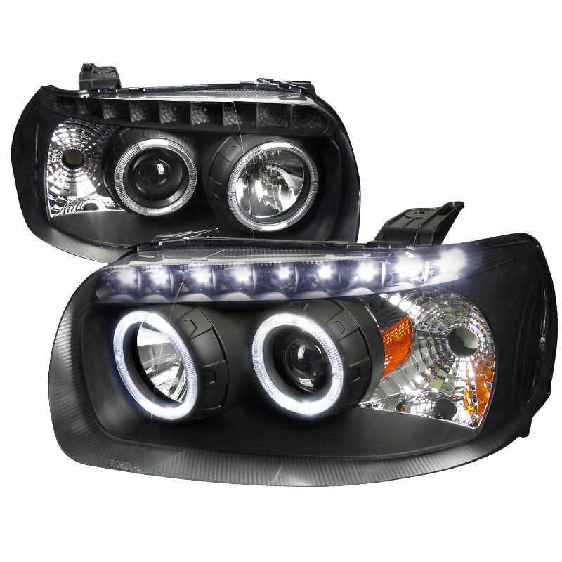 Ford Escape  2005-2007 Black  Projector Headlights