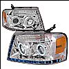 2005 Ford F150   Chrome R8 Style Projector Headlights