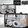 1993 Ford F150   Chrome  Projector Headlights