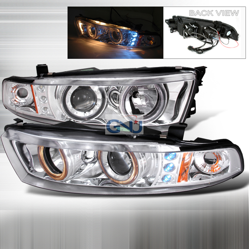 Mitsubishi Galant  1999-2002 Chrome  Projector Headlights