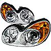 Hyundai Sonata  2002-2005 Chrome  Projector Headlights