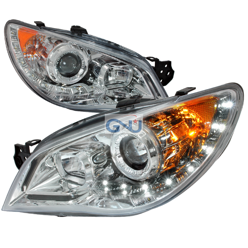 Subaru Impreza  2006-2007 Chrome  Projector Headlights