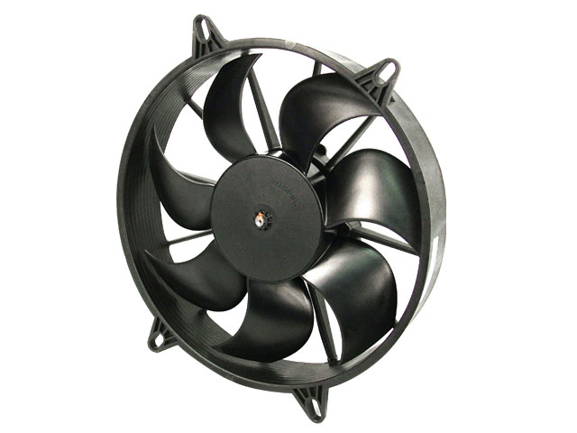 "11"" Curved Blade SPAL Extreme Performance Fan / 12V Puller"