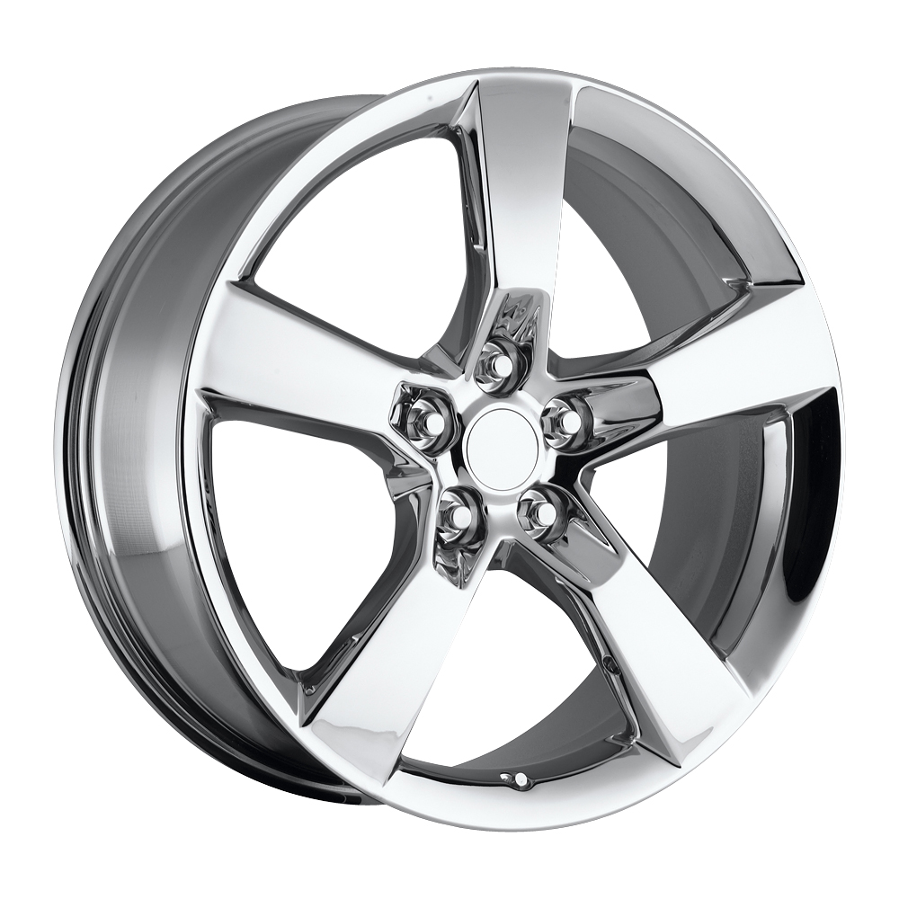 Chevrolet Camaro 2010-2012 22x9 5x4.75 +40 - Replica Wheel -  Chrome With Cap