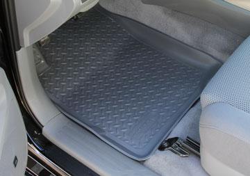 Dodge Ram 2010-2012 2500/3500 Husky Classic Style Series Front Floor Liners - Gray