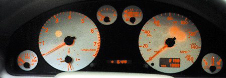 Audi A4 96-97 VDO Only Aluminum Face Gauge