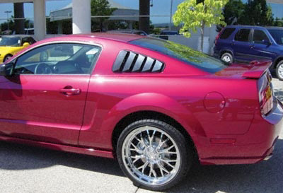 2005-2006 Ford Mustang Side Window Louver