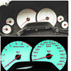 2002 Chevy Corvette  C5 White Face Gauges