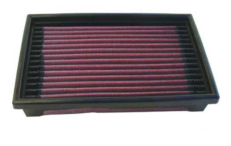 Dodge Daytona 1989-1989  2.5l L4 F/I Turbo K&N Replacement Air Filter