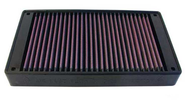 Nissan Stanza 1989-1989  2.0l L4 F/I Sedan K&N Replacement Air Filter