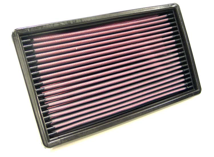 Saab 9000 1987-1990  2.0l L4 F/I Non-, W/Panel Filter K&N Replacement Air Filter