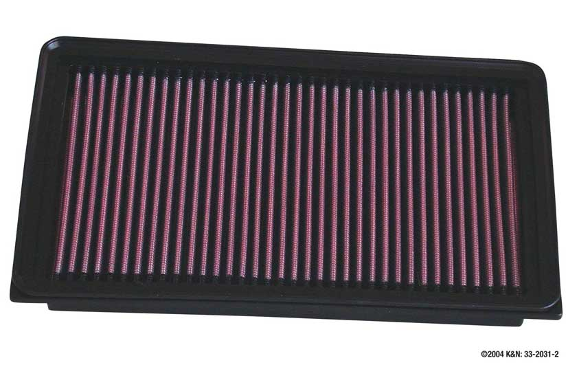 Nissan Stanza 1990-1992  2.4l L4 F/I  K&N Replacement Air Filter