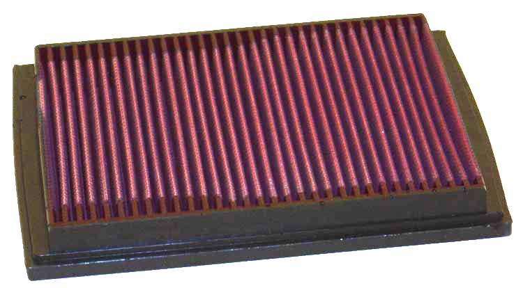 Bmw 3 Series 1993-1993 325i 2.5l L6 F/I  K&N Replacement Air Filter