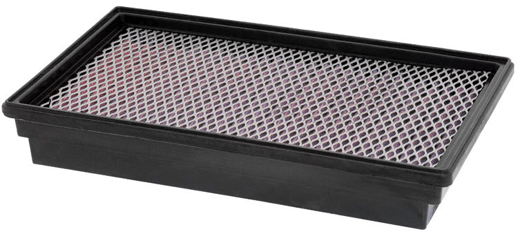 Ford Econoline 1995-2002 E350  Club Wagon 7.3l V8 Diesel  (2 Required) K&N Replacement Air Filter