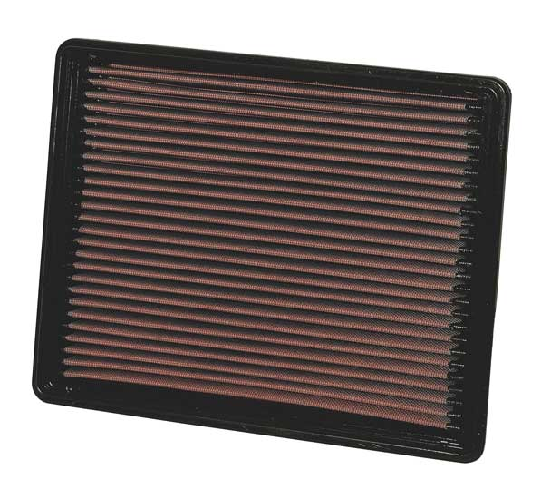 Gmc Sierra 2005-2005  2500 Hd 6.6l V8 Diesel W/Panel Filter K&N Replacement Air Filter
