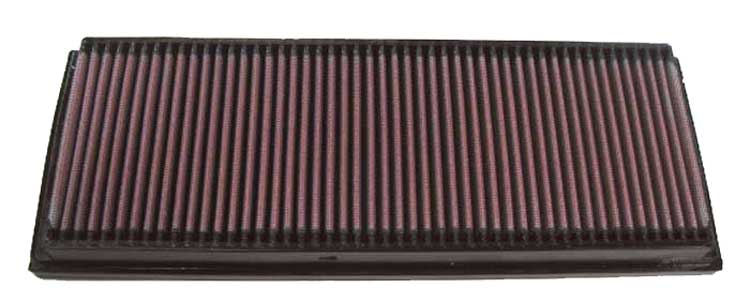 Mercedes Benz Ml Class 2006-2007 Ml500 5.0l V8 F/I  (2 Required) K&N Replacement Air Filter
