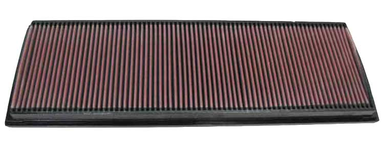 Porsche 911 2001-2001  Gt2 3.6l H6 F/I  K&N Replacement Air Filter