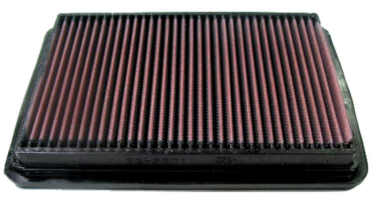 Hyundai Tiburon 2003-2008  2.7l V6 F/I  K&N Replacement Air Filter