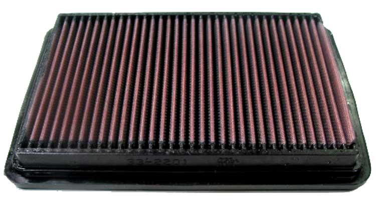 Hyundai Tiburon 2003-2008  2.7l V6 F/I  K&N Replacement Air Filter
