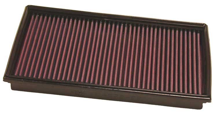 Bmw 7 Series 2005-2006 750il 4.8l V8 F/I  (2 Required) K&N Replacement Air Filter