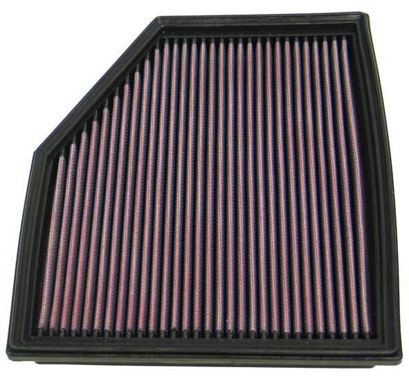Bmw 5 Series 2008-2008 525i 3.0l L6 F/I  K&N Replacement Air Filter