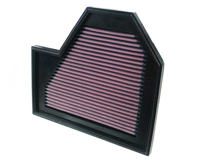 Bmw 6 Series 2006-2009 M6 5.0l V10 F/I Left Side Air Box K&N Replacement Air Filter