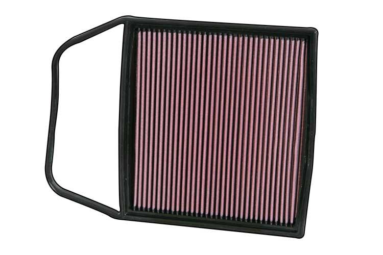 Bmw 5 Series 2009-2009 535i Xdrive 3.0l L6 F/I  K&N Replacement Air Filter
