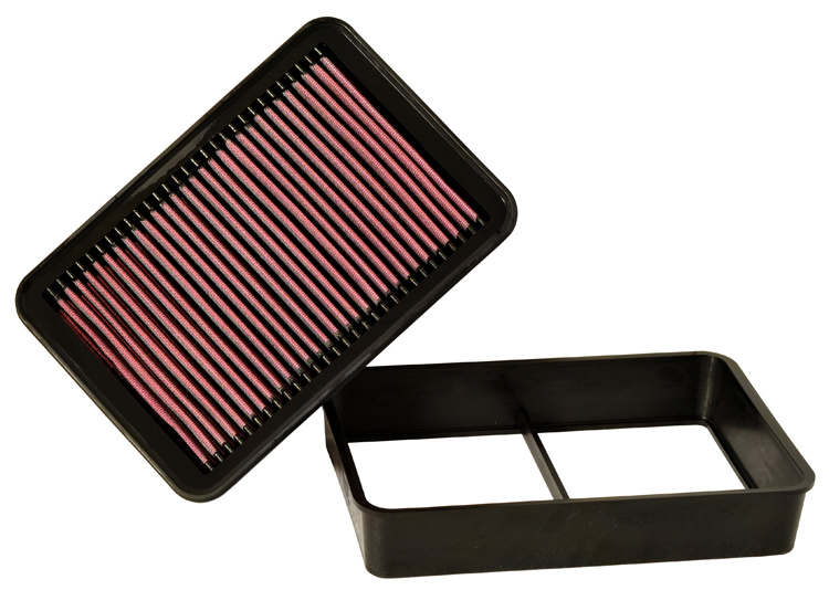 Mitsubishi Lancer 2009-2009  Ralliart 2.0l L4 F/I  K&N Replacement Air Filter