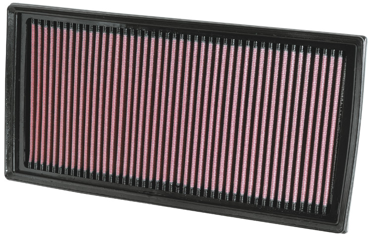 Mercedes Benz Ml Class 2007-2009 Ml63 Amg 6.3l V8 F/I  (2 Required) K&N Replacement Air Filter
