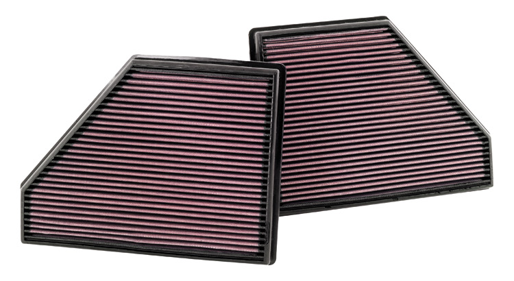 Bmw X5 2007-2009  4.8l V8 F/I  K&N Replacement Air Filter