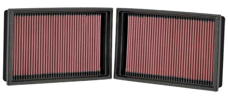 Bmw 7 Series 2007-2008 760li 6.0l V12 F/I  K&N Replacement Air Filter