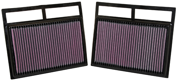 Mercedes Benz Sl600 2004-2009 Sl600 5.5l V12 F/I  K&N Replacement Air Filter