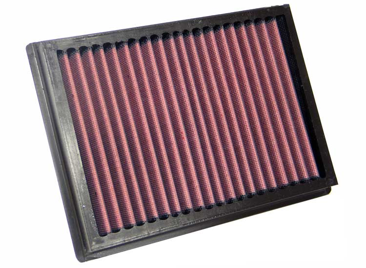 Subaru Legacy 1989-1989  1.8l H4 Carb Gl 4wd K&N Replacement Air Filter