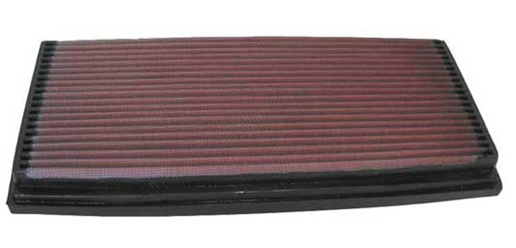 Mercedes Benz Sl500 1992-1993 Sl500 5.0l V8 F/I  (2 Required) K&N Replacement Air Filter