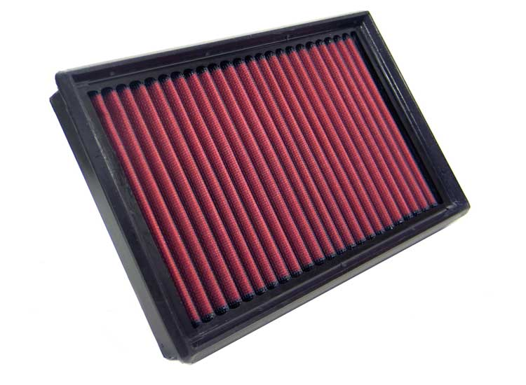 Bmw 5 Series 1991-1995 525tds 2.5l L6 Diesel Left Hand Drive K&N Replacement Air Filter