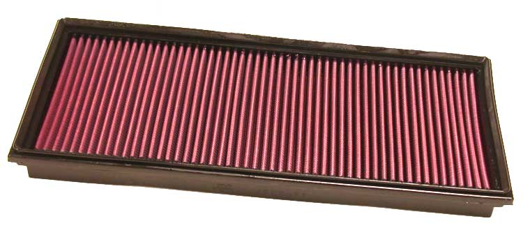 Porsche Cayenne 2008-2009  4.8l V8 F/I  (2 Required) K&N Replacement Air Filter