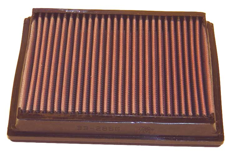 Audi A6 2004-2004  Quattro 4.2l V8 F/I Rs6 (2 Required) K&N Replacement Air Filter