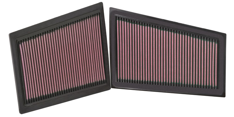 Mercedes Benz C Class 2009-2010 C350 3.0l V6 Diesel  K&N Replacement Air Filter