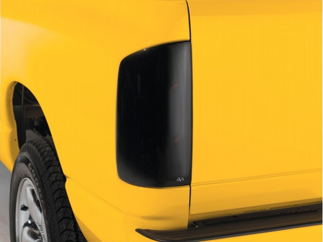 Gmc Sierra   2007-2012 Tail Shades™ Blackout Tail Light Covers