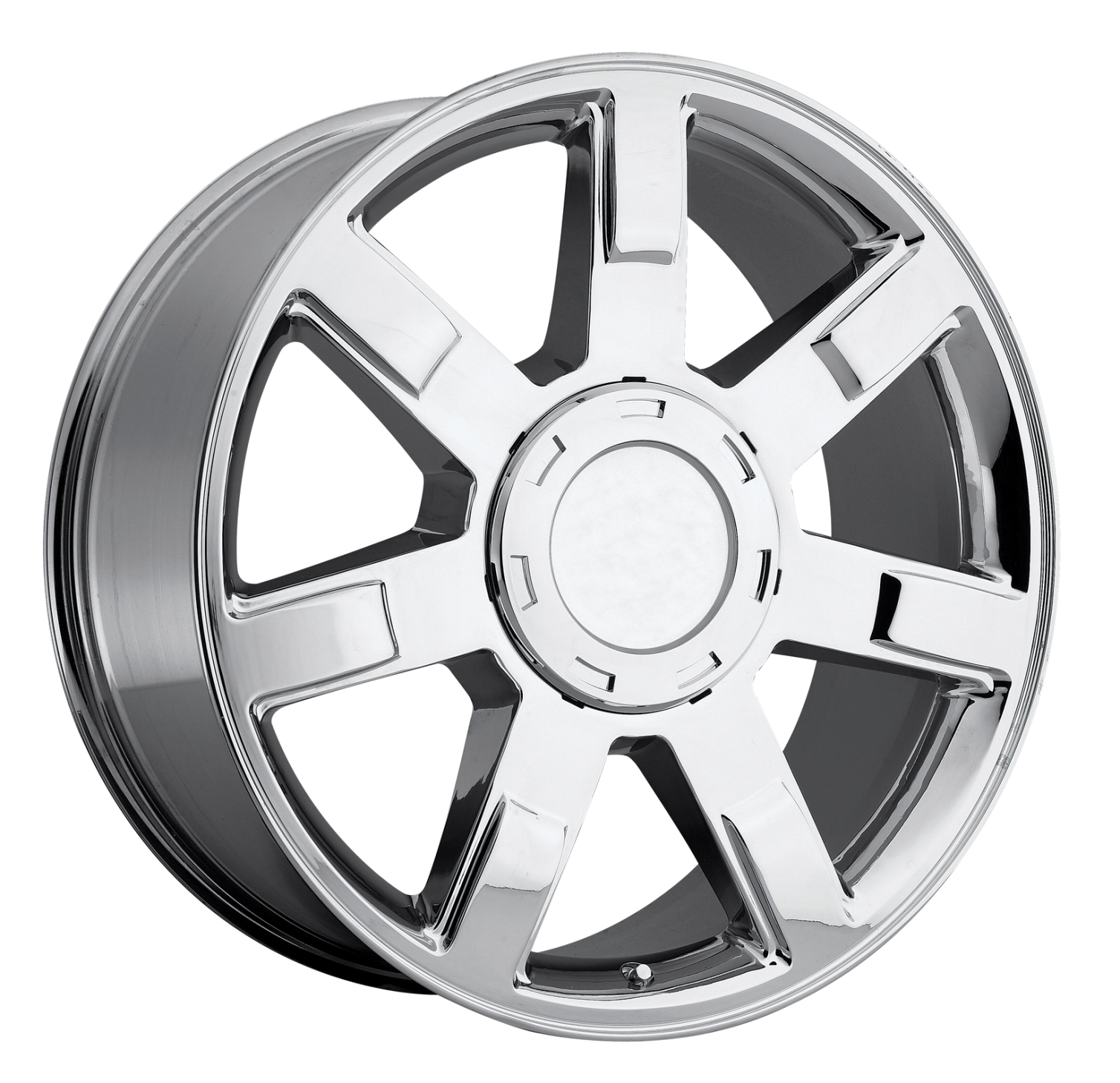 Cadillac Escalade 2007-2012 22x9 6x5.5 +15 - Wheel - Chrome With Cap