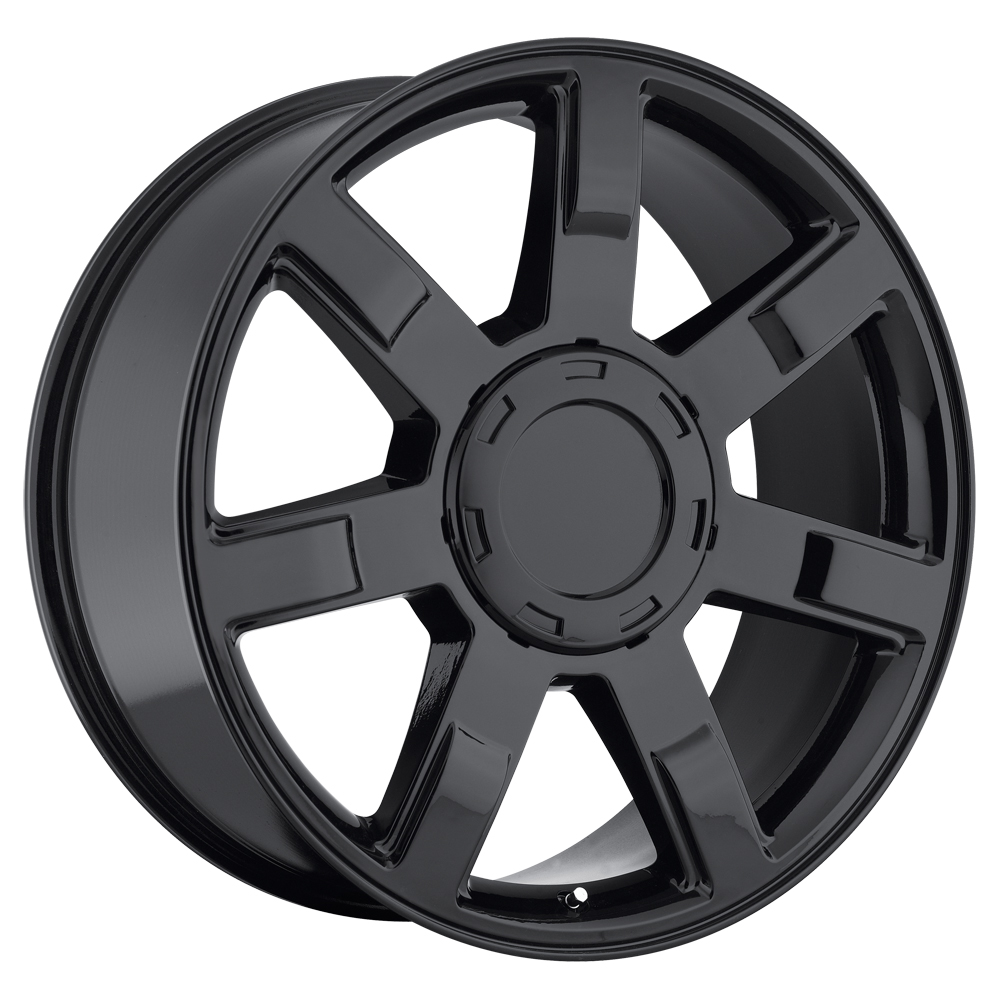 Cadillac Escalade 2007-2012 22x9 6x5.5 +31 - Wheel - Gloss Black With Cap