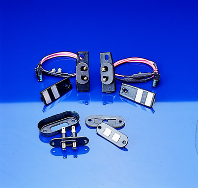 Universal sliding van door contacts.