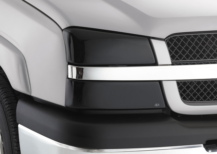 Ford Explorer 2002-2005   Smoked Headlight Covers