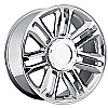 Cadillac Escalade 2007-2012 22x9 6x5.5 +31 - Platinum Wheel - Chrome With Cap