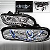 2000 Chevrolet Camaro   Chrome Dual Ccfl Halo Projector Headlights  