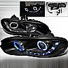 2006 Lexus Es300   Black Ccfl Halo Projector Headlights