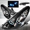 2006 Lexus ES330  CCFL Halo Black Projector Headlights